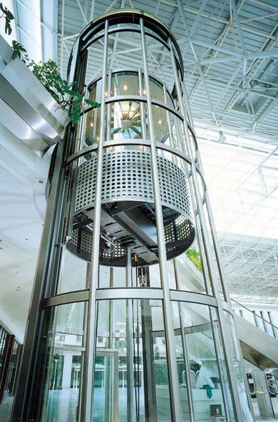 scenic glass lift