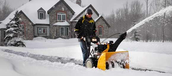 the Cub Cadet 524 snow thrower